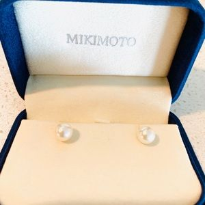 Mikimoto Pearl stud earrings